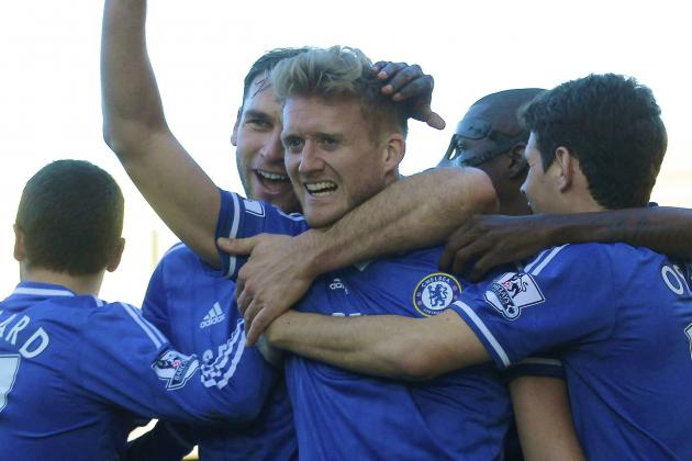 Andre Schurrle Adds an Extra String to Jose Mourinho's Powerful Chelsea Bow