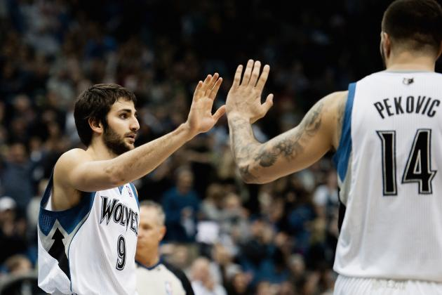 Can Nikola Pekovic and Ricky Rubio Carry Timberwolves If Kevin Love Leaves?