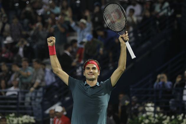 Roger Federer Reaffirms Elite Status with Win at 2014 Dubai Tennis Championships