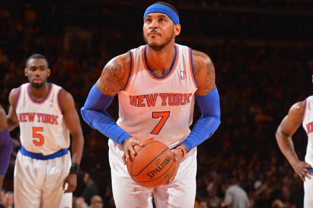 NBA Rumors: Assessing Future of Carmelo Anthony, Kyrie Irving and More Stars