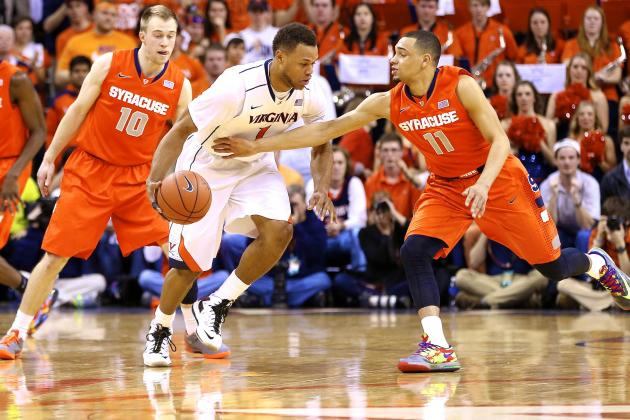 Syracuse vs. Virginia: Live Score, Highlights and Reaction