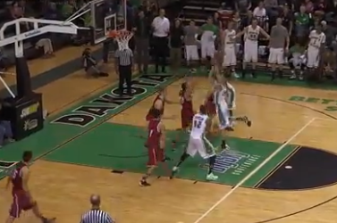 Troy Huff's Buzzer-Beater Caps Senior Day at North Dakota (VIDEO)