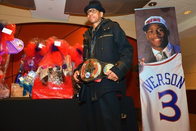 Allen Iverson Jersey Retirement Ceremony: Philadelphia 76ers Honor Former Star