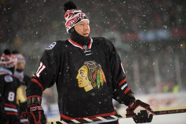 Marian Hossa Injury: Updates on Blackhawks Forward's Upper Body and Return