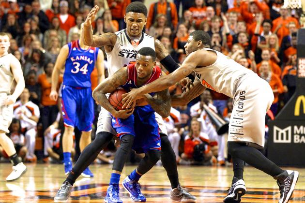 Kansas vs. Oklahoma State: Live Score, Highlights and Reaction