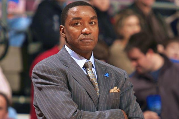 Pistons Consider Hiring Isiah Thomas as General Manager