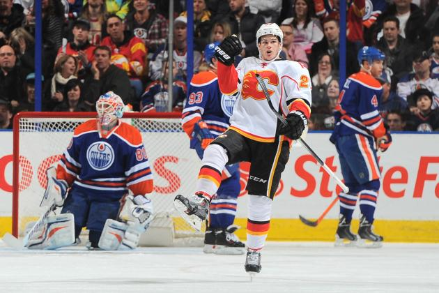 Monahan's OT Goal Leads Flames Past Oilers 2-1