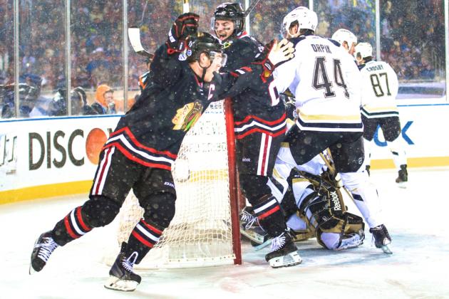 Snowy Penguins-Blackhawks Game Shows NHL Stadium Series Is Guaranteed Money