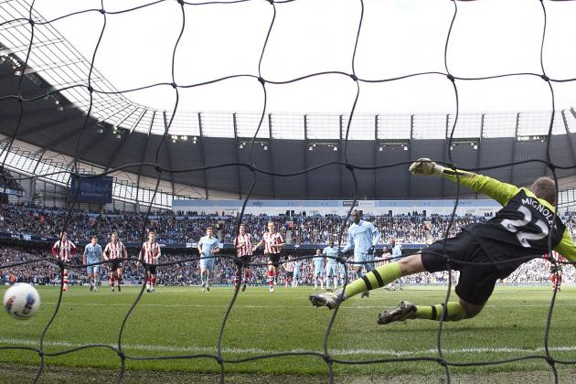 Manchester City vs. Sunderland: Likely Capital One Cup Final Penalty-Takers