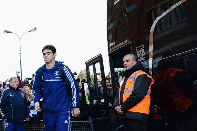 Chelsea Star Oscar Walked Home After Victory at Fulham