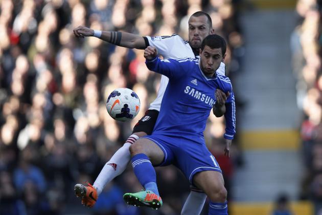 Eden Hazard Showing Class That Makes Him Best Player in the Premier League