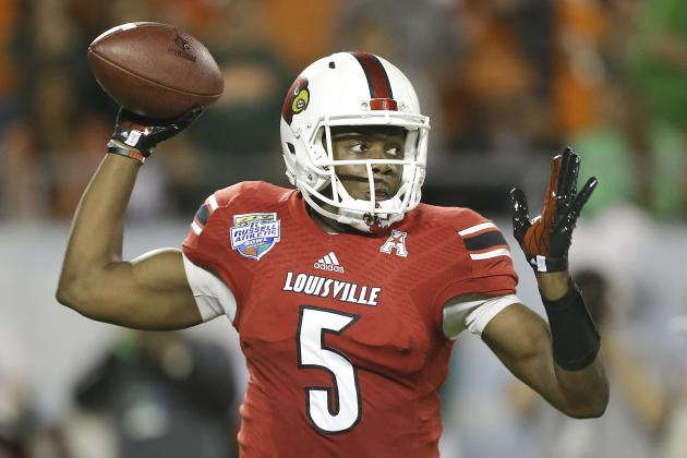 Teddy Bridgewater Needs Excellent Pro Day to Boost 2014 NFL Draft Stock