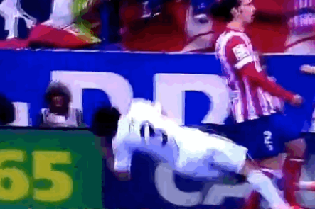 GIF: Real Madrid's Pepe Takes a Dive vs. Atletico Madrid