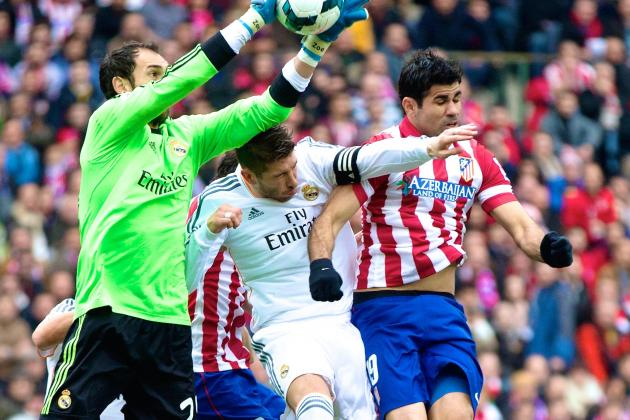 Atletico Madrid vs. Real Madrid: La Liga Live Score, Highlights, Report