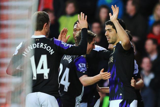 Premier League Week 28 Standout Stats: Suarez and Soldado Break Droughts