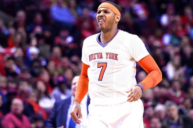 Carmelo Anthony: New York Knicks Lack 'Sense of Pride,' Says 'It's Embarrassing'