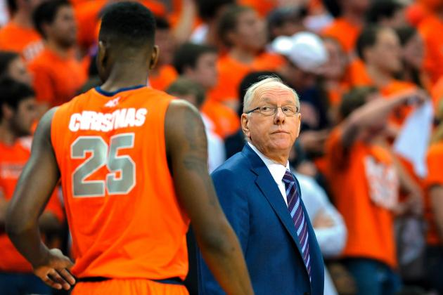 Syracuse's Loss Leads Historic Day of College Basketball Upsets