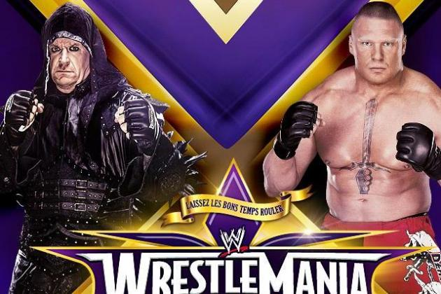 WWE WrestleMania 30: An Early Preview for Undertaker-Lesnar