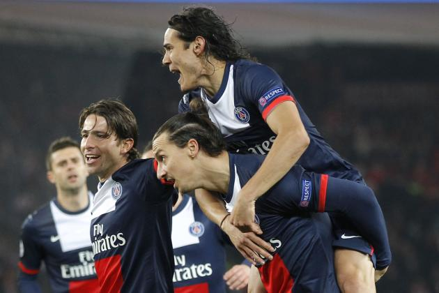 Week 27 Ibrahimovic, Cavani and Berbatov Watch: Cavani Scores on PSG Return