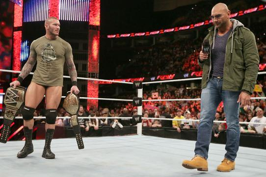 Batista-Randy Orton WrestleMania Feud Will Benefit from Fan Outrage