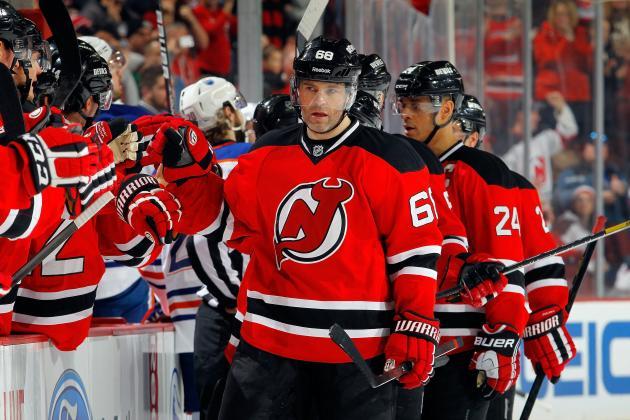 Devils' Jaromir Jagr Joins NHL's Exclusive 700-Goal Club