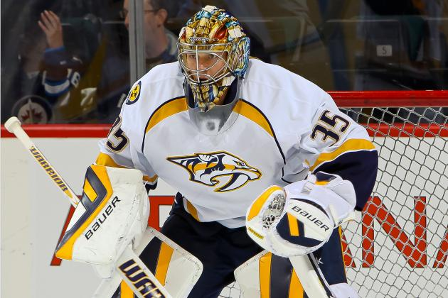 Rinne Returns to Nashville, 'Ready to Go' vs. Pens on Tuesday