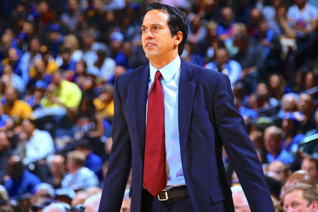 Miami Heat 'Fast Five': Spoelstra's Switch, Beasley's Burden, Oden's Fan Club