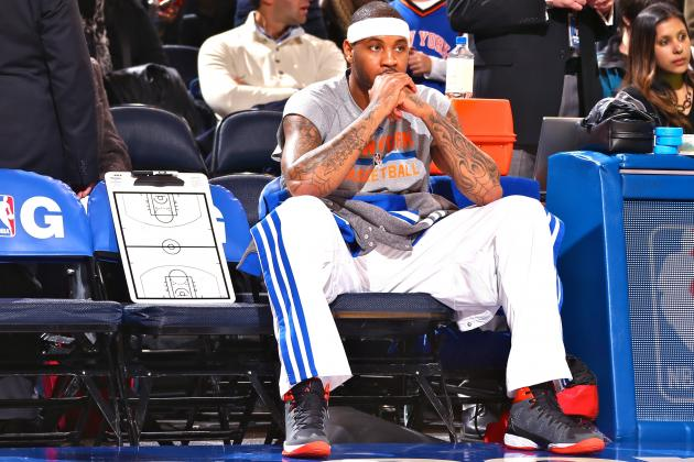 Why Would Carmelo Anthony Want to Re-Sign with New York Knicks?