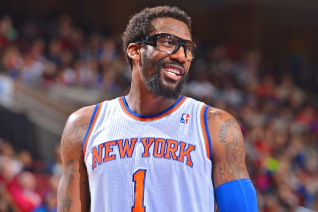 Amar'e Stoudemire Takes Subtle Jab at JR Smith for Questioning NY Knicks' Heart
