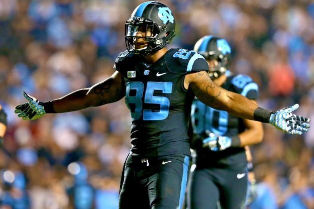 Eric Ebron Hopes to Be More Than Just an Ordinary NFL Tight End