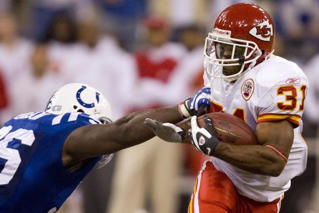 Priest Holmes Rushes His Way into Chiefs Hall of Fame