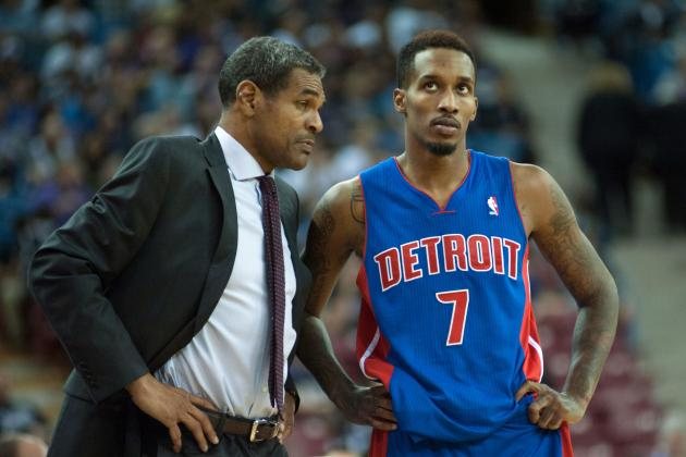 Brandon Jennings Blasts Pistons for Firing Maurice Cheeks, Says Team Is Slipping