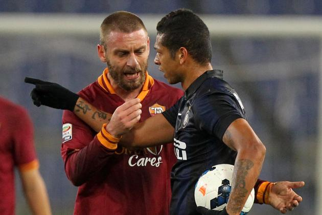 Daniele De Rossi Banned 3 Matches for Punching Mauro Icardi