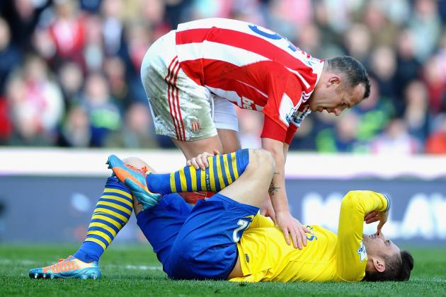 Charlie Adam Charged with Violent Conduct for Incident vs. Arsenal