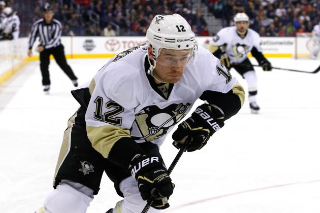Penguins Place Kobasew on Waivers