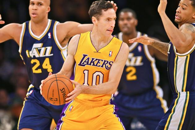 Steve Nash Doubtful to Play for Los Angeles Lakers Again During 2013-14 Season