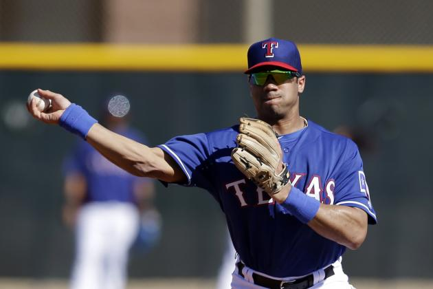 All the Best Moments from Russell Wilson's Day with the Texas Rangers