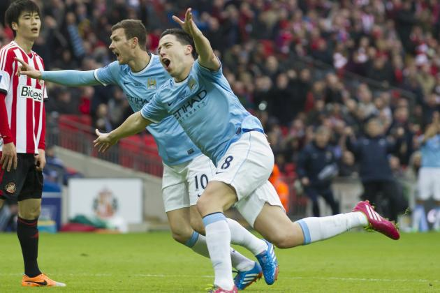 Manchester City Are Favorites to Win Premier League After Carling Cup Victory