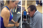 Belichick Putting in Work at the Gym with His GF