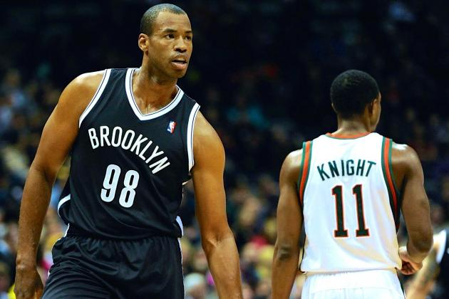 Jason Collins Signs with Brooklyn Nets for the Rest of Season