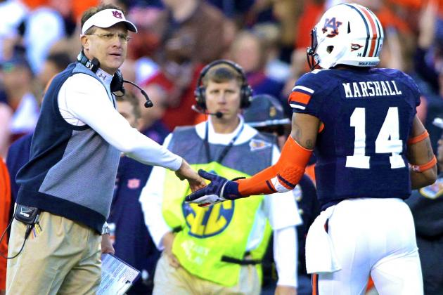Gus Malzahn Making Mistake Not Letting Nick Marshall Work with George Whitfield
