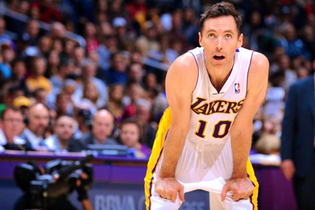Steve Nash Injury Likely Means the End of the Line for Lakers, Career