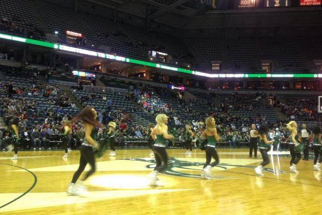Plenty of Good Seats Available for Monday Night's Bucks-Jazz Tilt