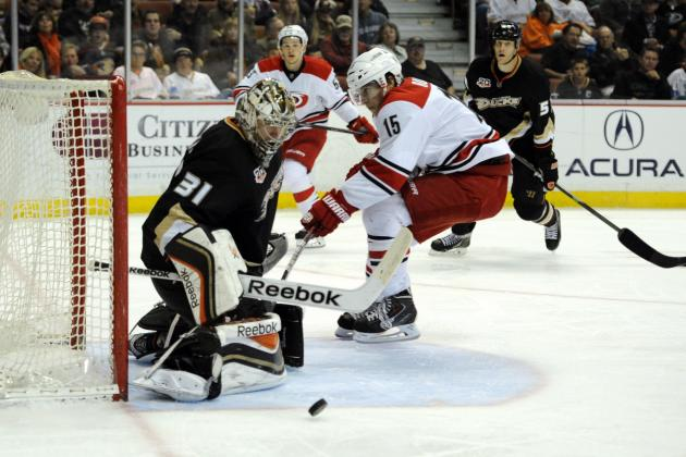 Frederik Andersen, Ritch Winter Spite Carolina Hurricanes One More Time