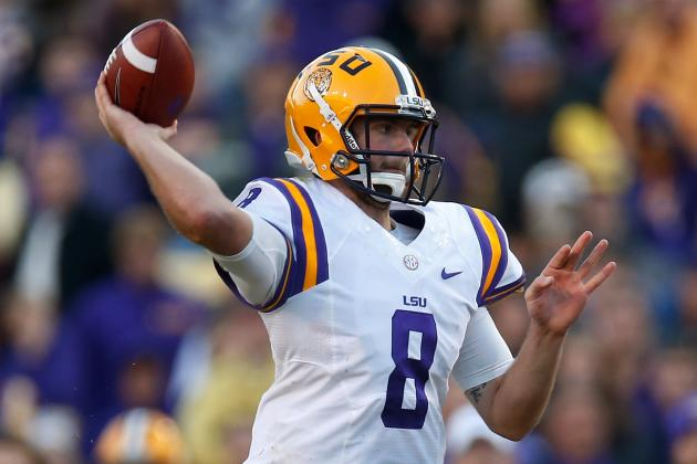 Analyzing Zach Mettenberger's Knee Injury, ACL Rehab Heading into the NFL Draft