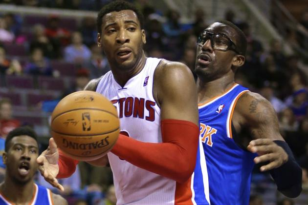 Andre Drummond Records Career-High 26 Rebounds vs. Knicks