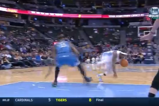 Ty Lawson Has No Respect for Corey Brewer's Ankles