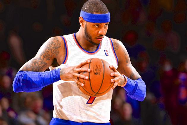 After Latest Knicks Loss, Carmelo Anthony Says He's 'Running out of Comments'