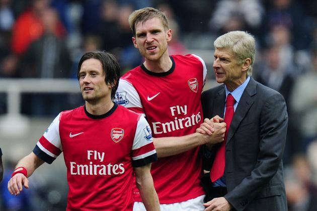 Tomas Rosicky and Per Mertesacker Agree to Contract Extensions with Arsenal