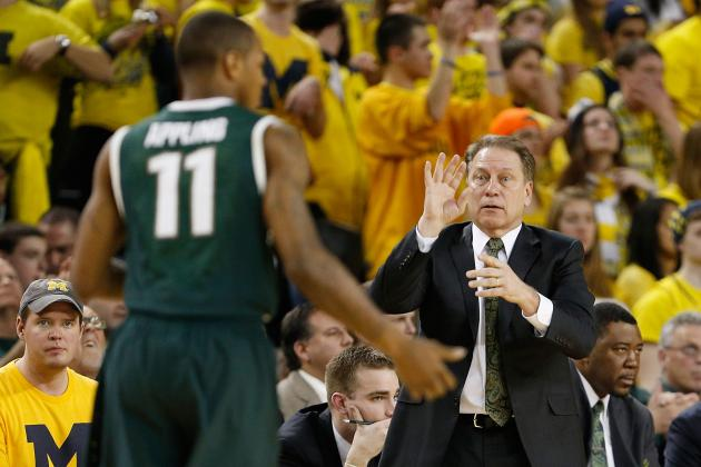 Michigan State's Tom Izzo: Keith Appling May See Reduced Court Time